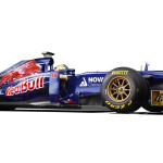 Toro Rosso-STR8 F1 versenyautó