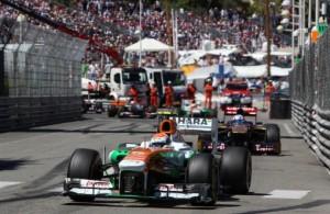 Sahara Force India Monte Carlo Utcáin