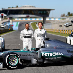 Mercedes-w04 F1 versenyautó