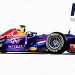 Red Bull Racing-Renault Forma1 versenyautó