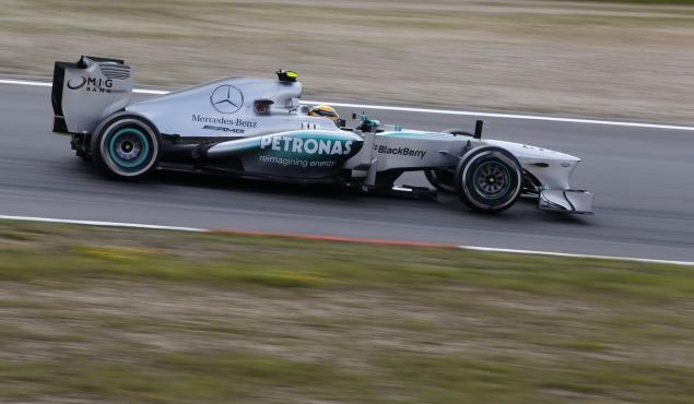 Mercedes,Hamilton